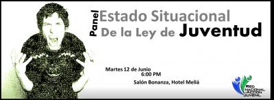 Panel sobre el estado situacional de La Ley General de Juventud (49-00)